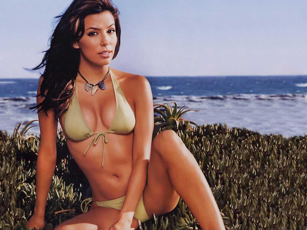 Eva Longoria hot bikini