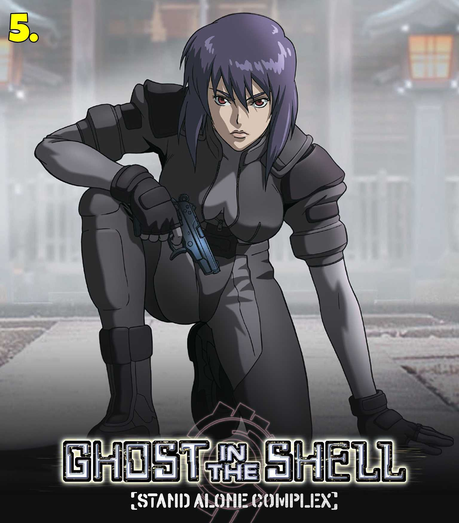 Ghost in the Shell (Stand Alone Complex and Arise)