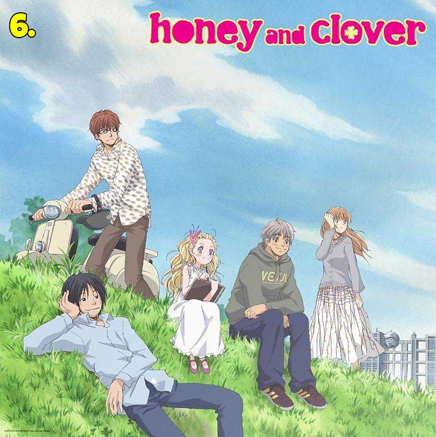 Hachimitsu to Clover (Honey and Clover)