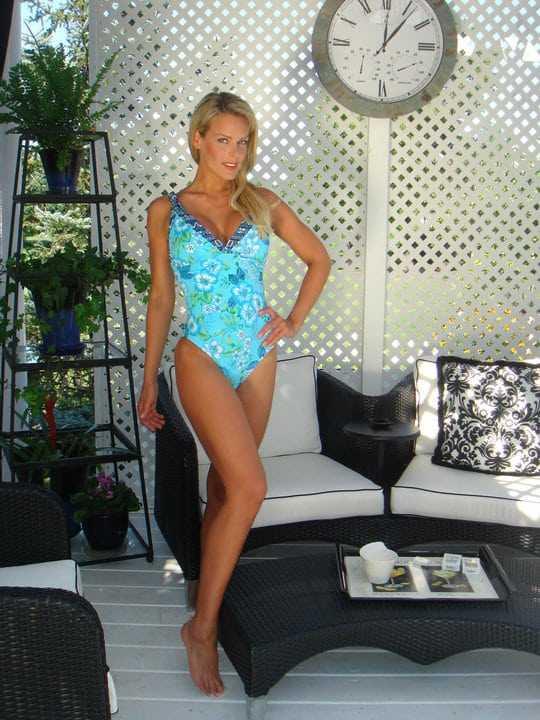 Heidi Albertsen sexy look