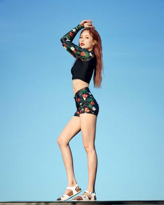 Hyuna hot feet