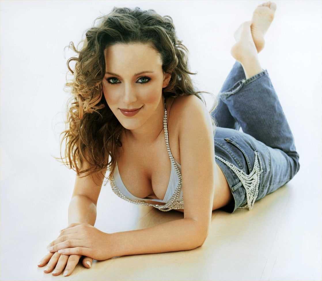 Jasmin Wagner boobs cleavage