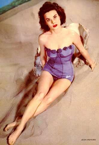 Jean Peters amazing
