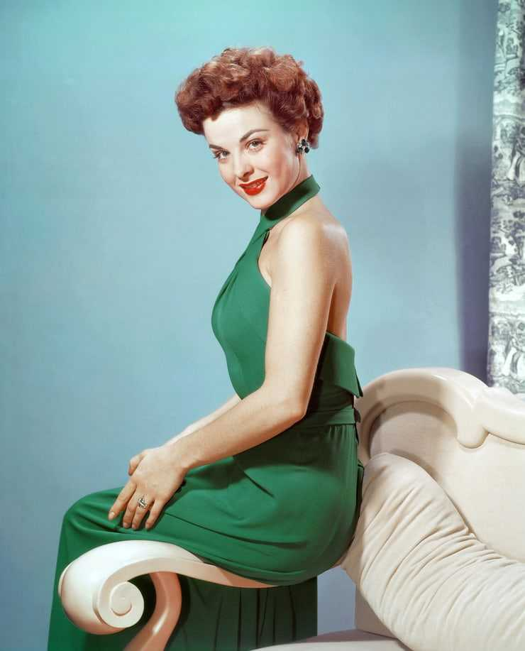 Jean Peters dress