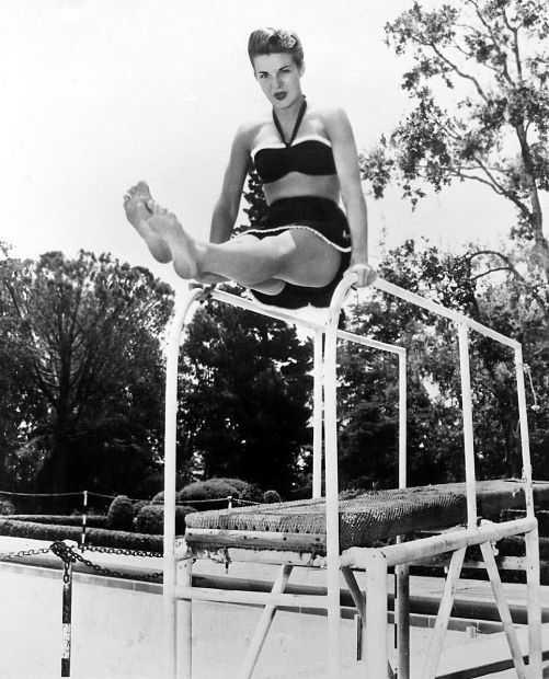 Jean Peters feet