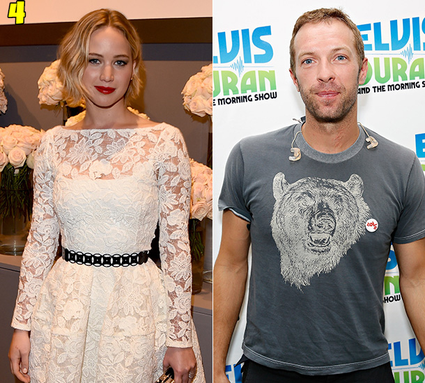 Jennifer Lawrence And Chris Martin Dating