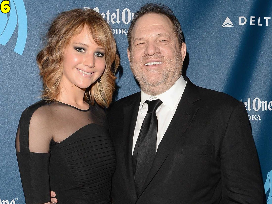 Jennifer Lawrence And Harvey Weinstein Dating