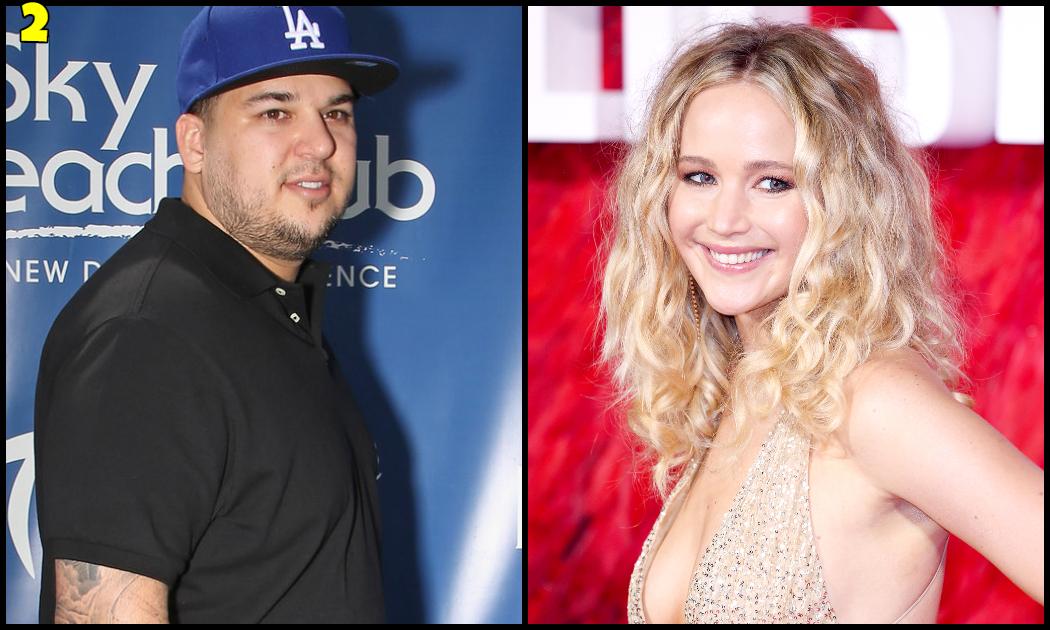 Jennifer Lawrence And Rob Kardashian Dating