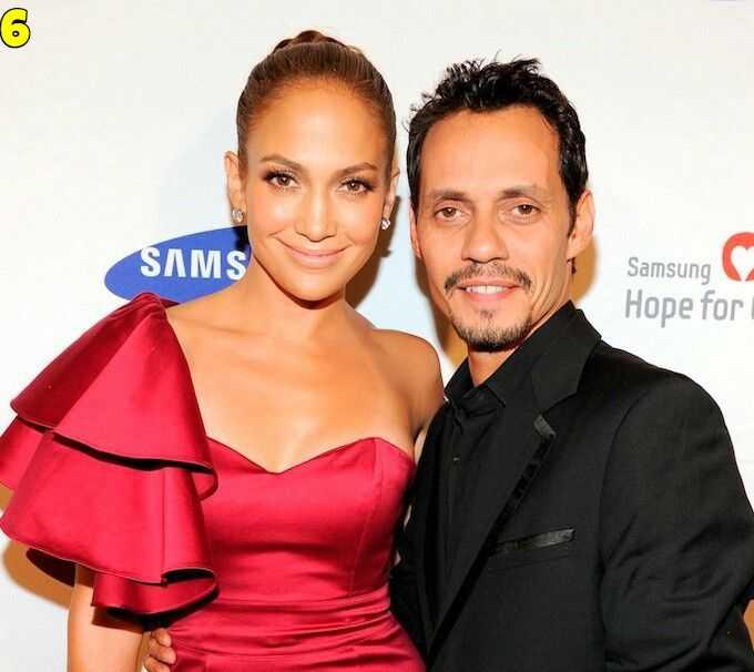 Jennifer Lopez And Marc Anthony Dating