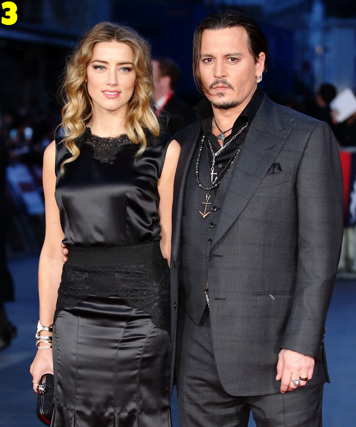 Johnny Depp And Amber Heard Dating