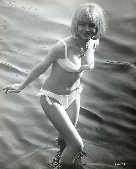 Judy Geeson bikini