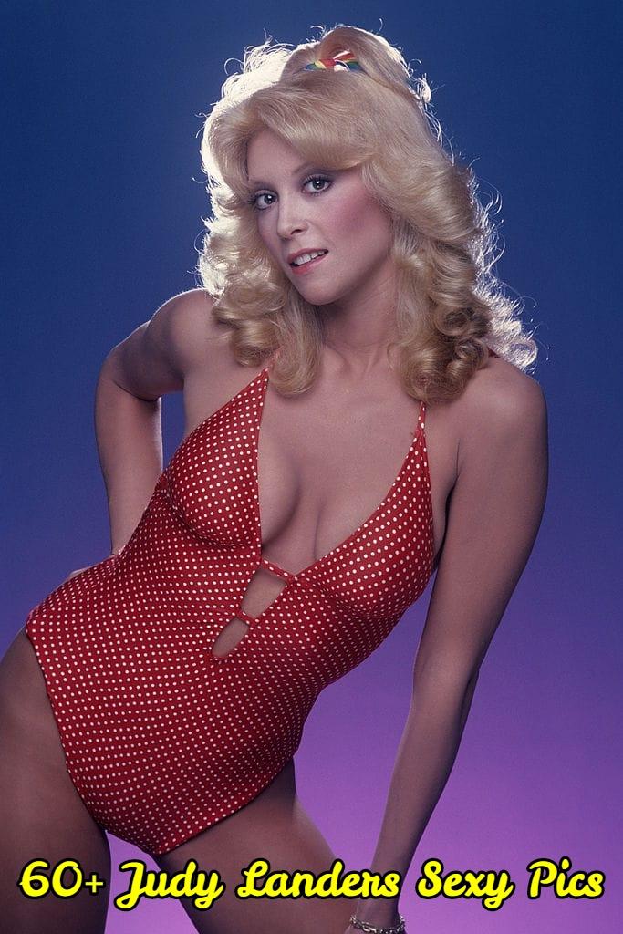 Judy Landers side boobs (2)