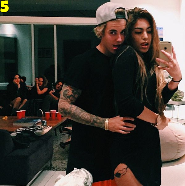Justin Bieber And Chantel Jeffries Dating