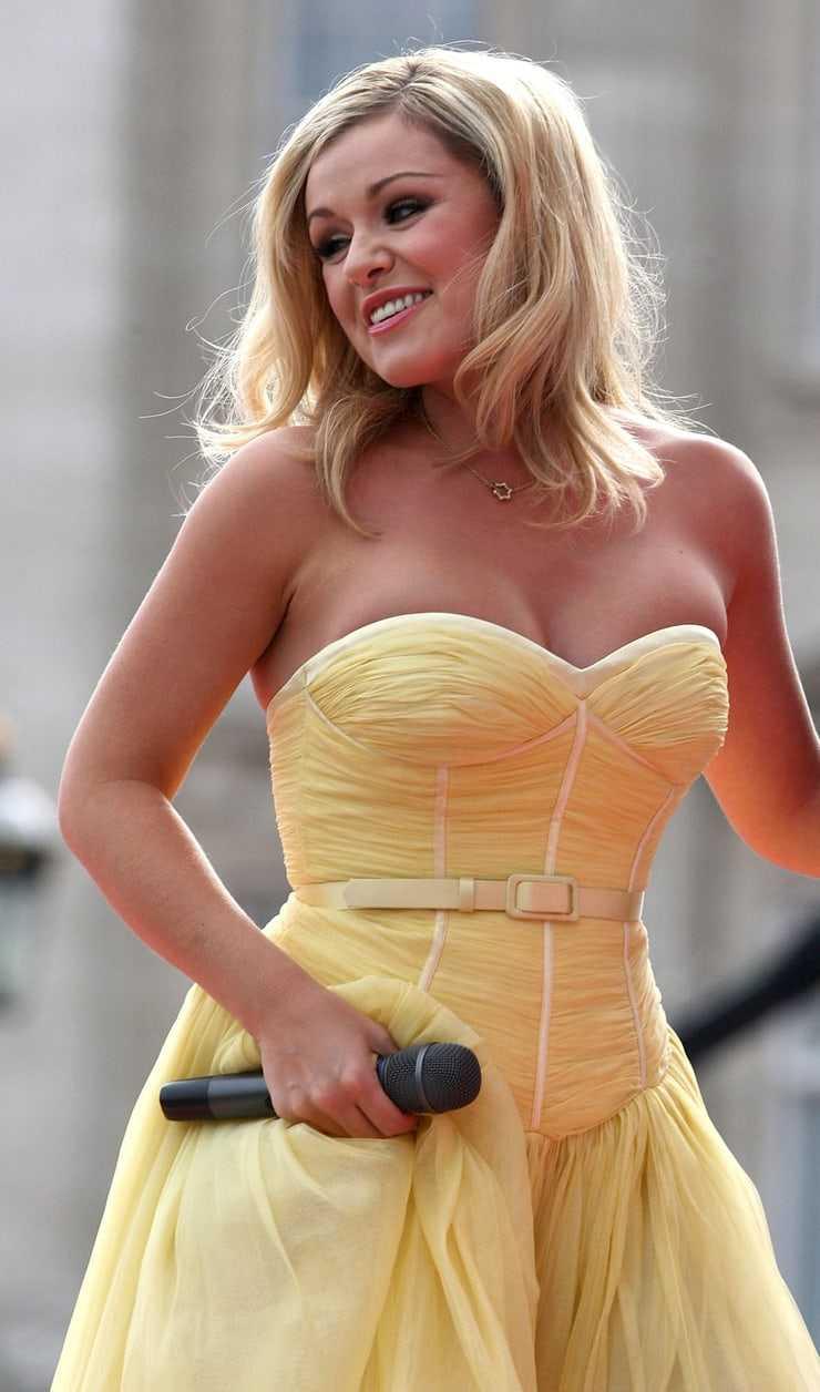 Katherine Jenkins hot cleavage