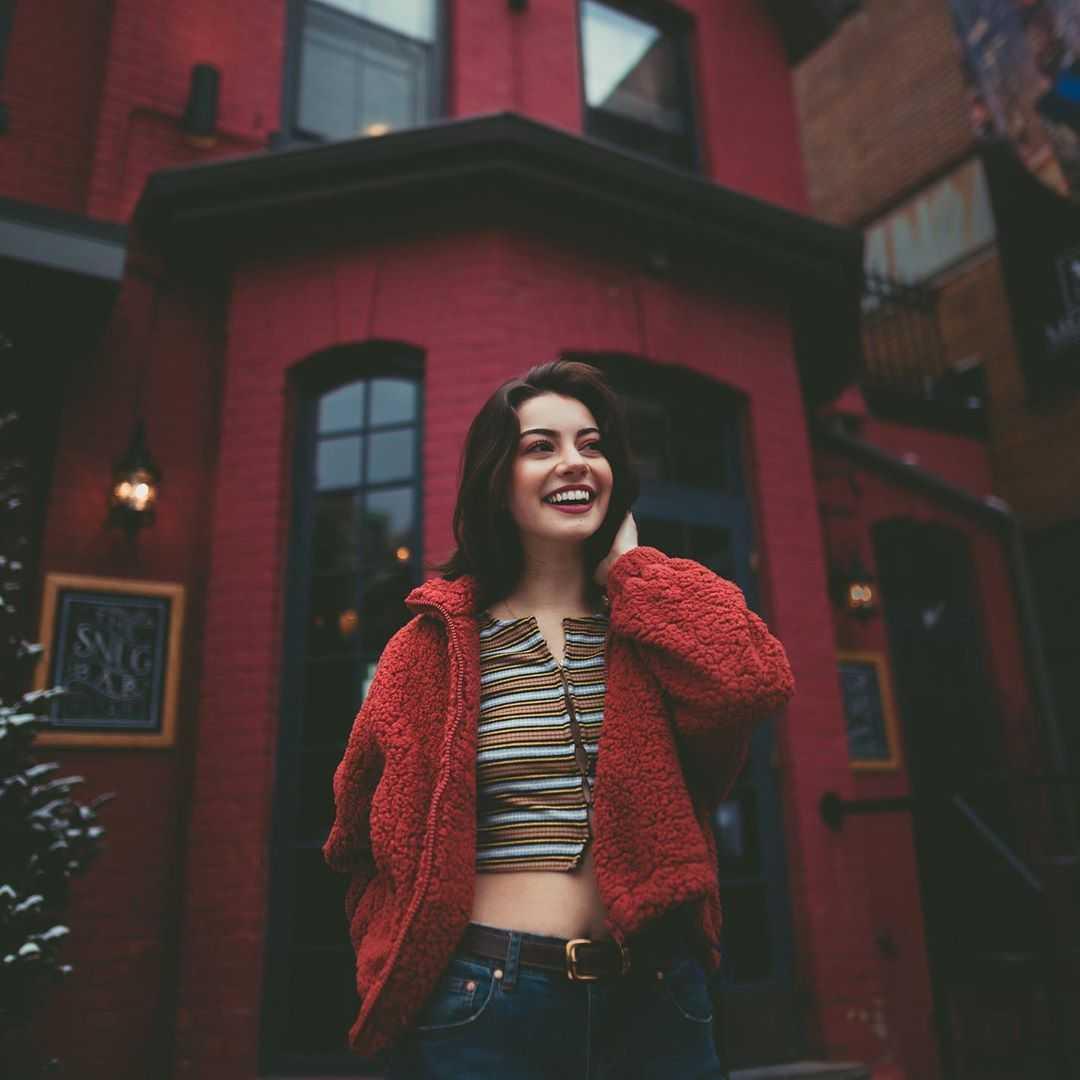 Keara Graves smile