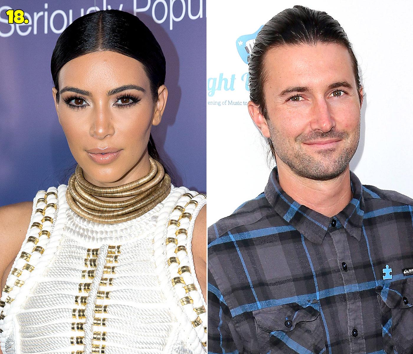 Kim Kardashian And Brandon Jenner Dating