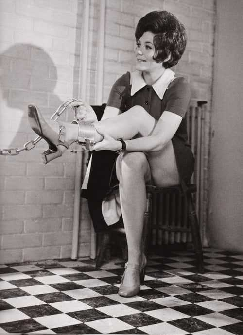 Linda Thorson hot feet