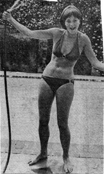 Linda Thorson sexy bikini