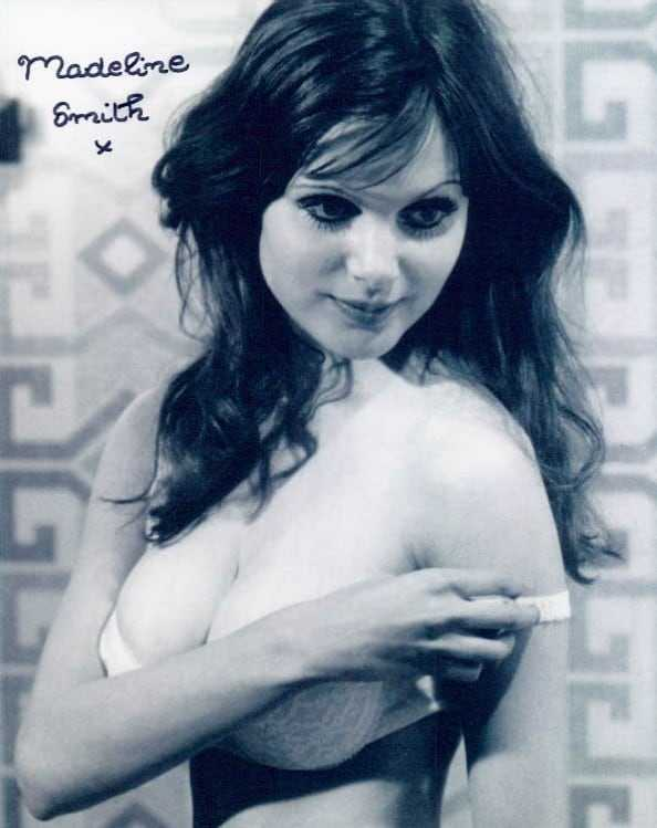 Madeline Smith hot look