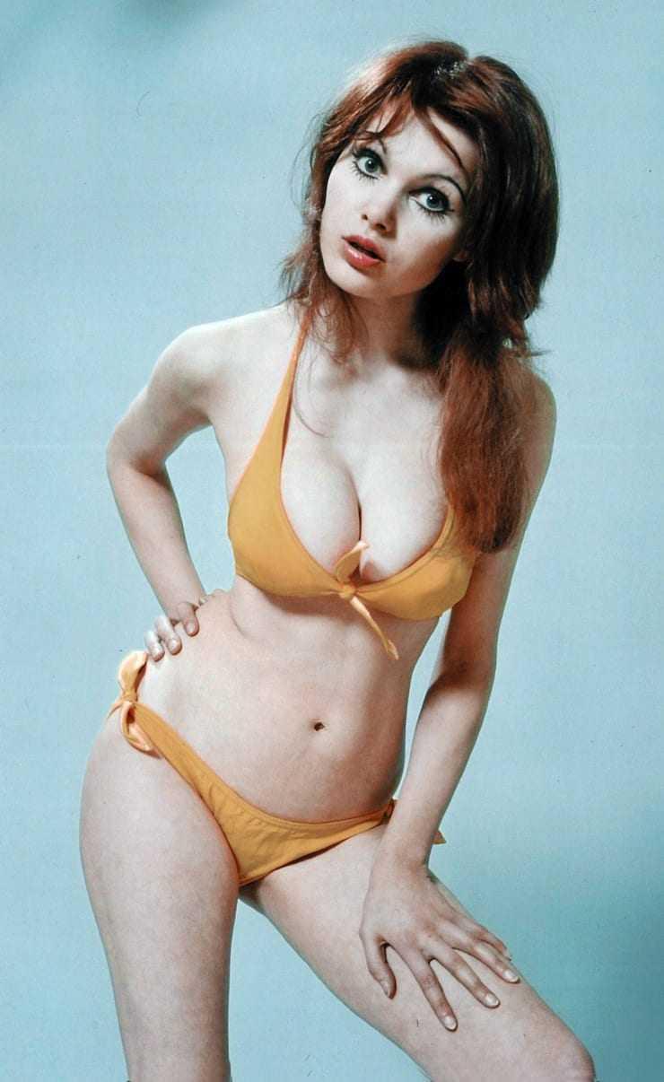 Madeline Smith sexy bikini pic