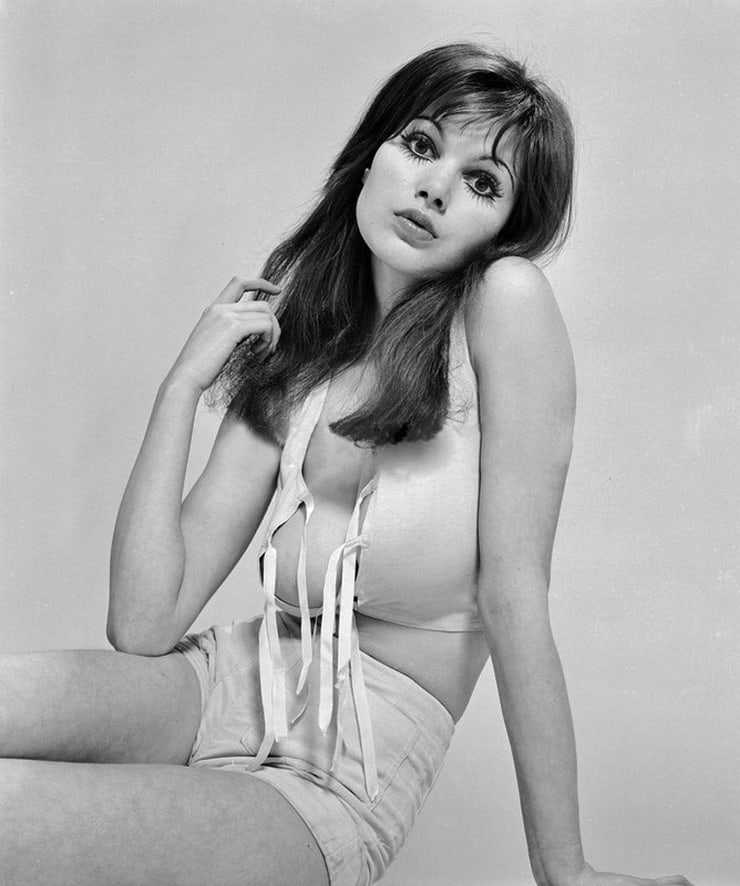 Madeline Smith sexy look