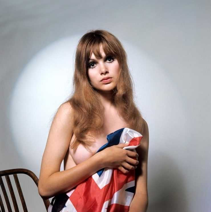 Madeline Smith sexy topless