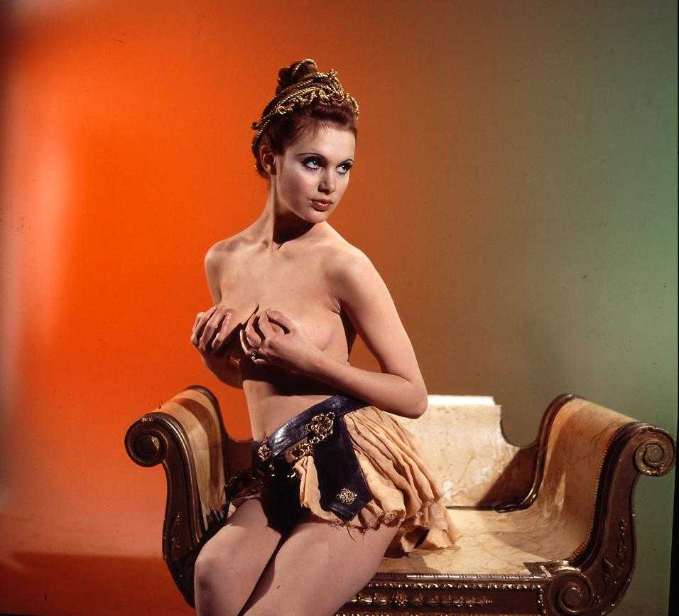 Madeline Smith topless pic