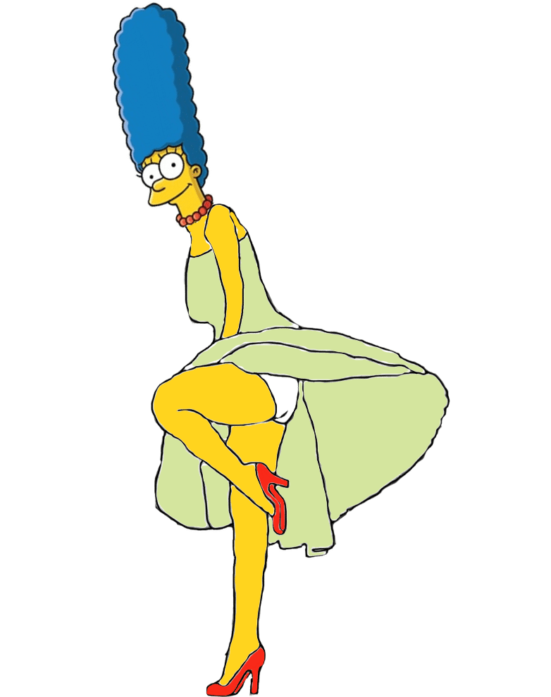 61 Marge Simpson Sexy Pictures Uncover Her Awesome Body - Geeks On Coffee-6013