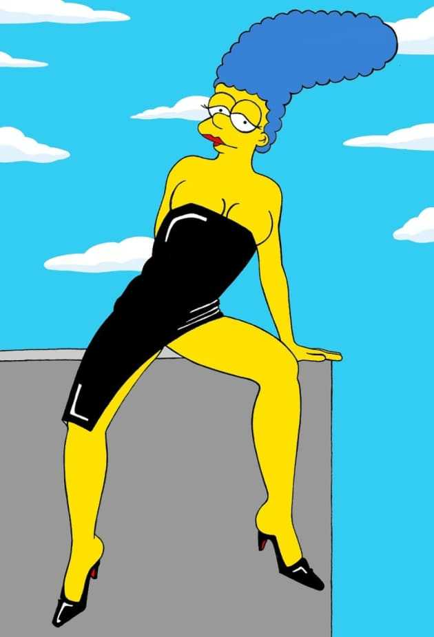 61 Marge Simpson Sexy Pictures Uncover Her Awesome Body -4572
