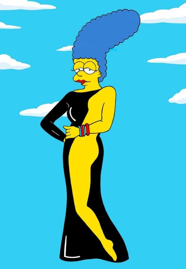 61 Marge Simpson Sexy Pictures Uncover Her Awesome Body - Geeks On Coffee-1713