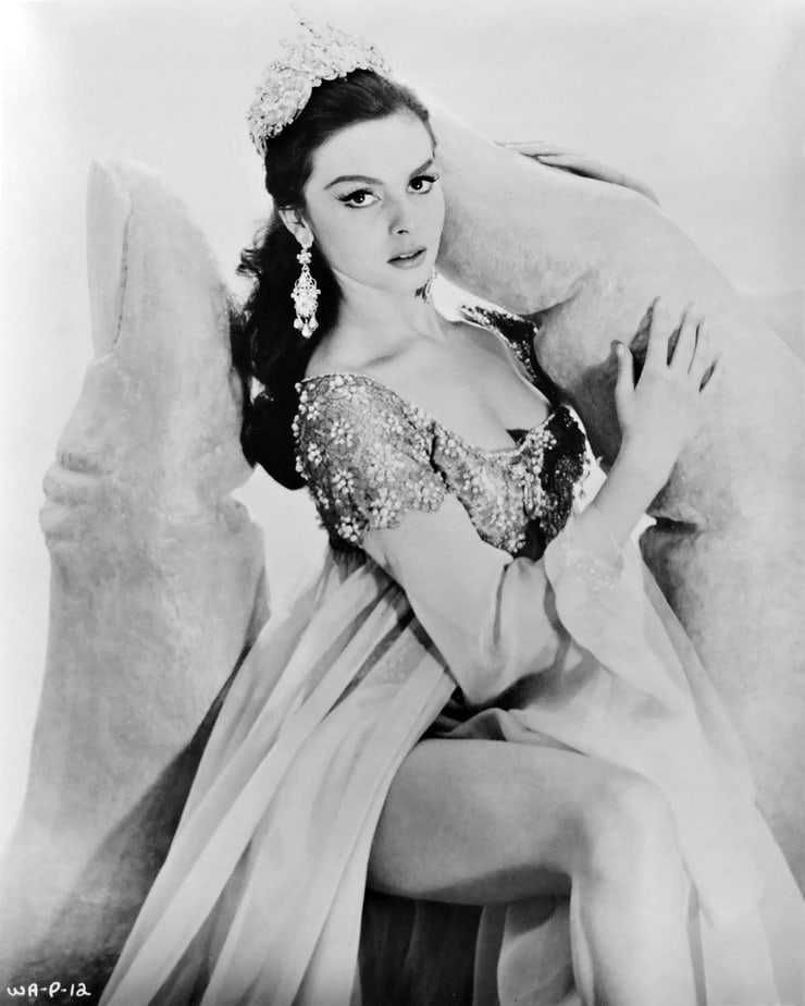 Michèle Mercier stunning