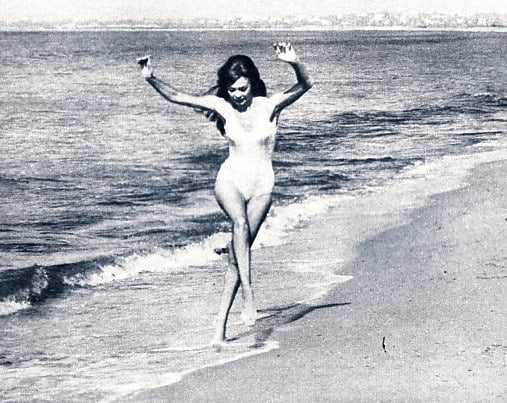 Michèle Mercier swimsuit