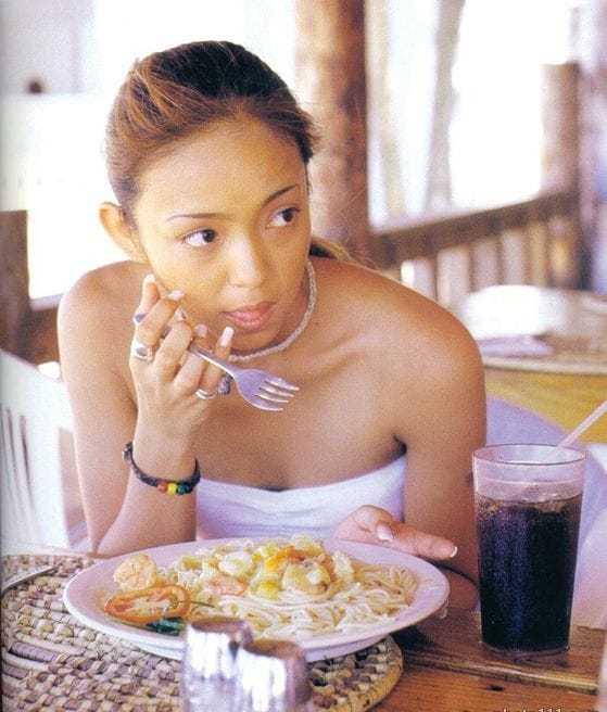 Namie Amuro cleavage