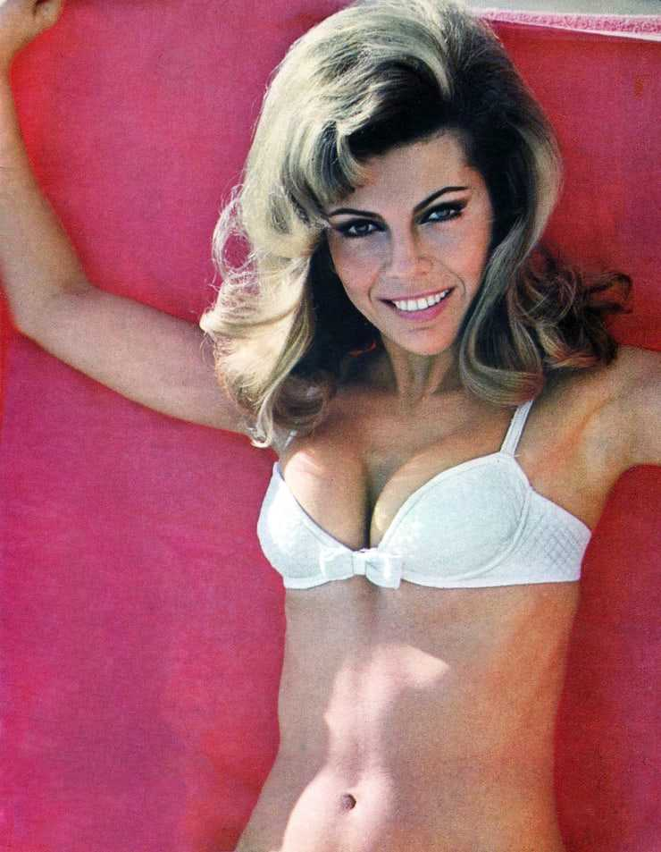 Nancy Sinatra sexy cleavage pic