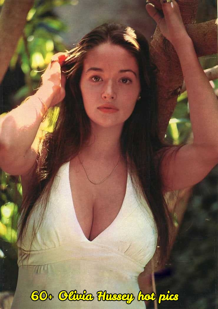 Olivia Hussey sexy cleavage