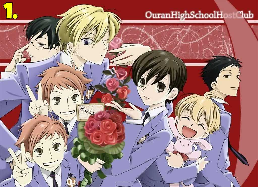 Ouran High School Host Club (Ouran Koukou Host Club)