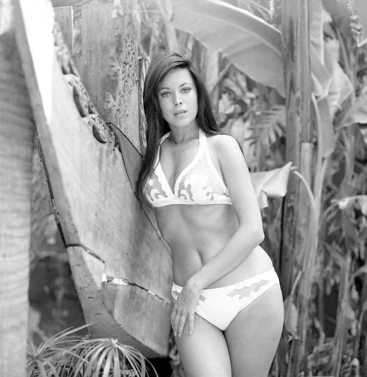 Phyllis Davis side boobs
