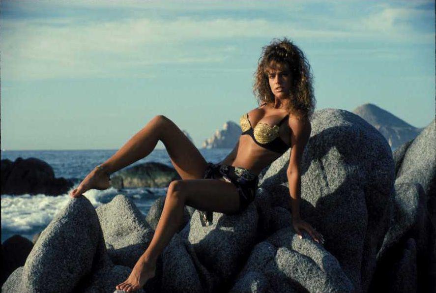 Racquel Darrian hot bikini