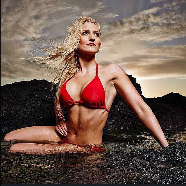 Rannveig Hildur hot red bikini pic