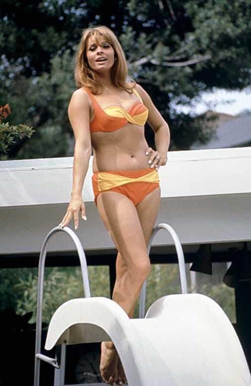 Senta Berger bikini pictures
