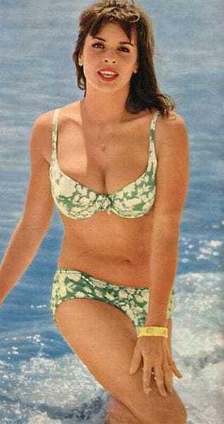 Senta Berger hot bikini pic