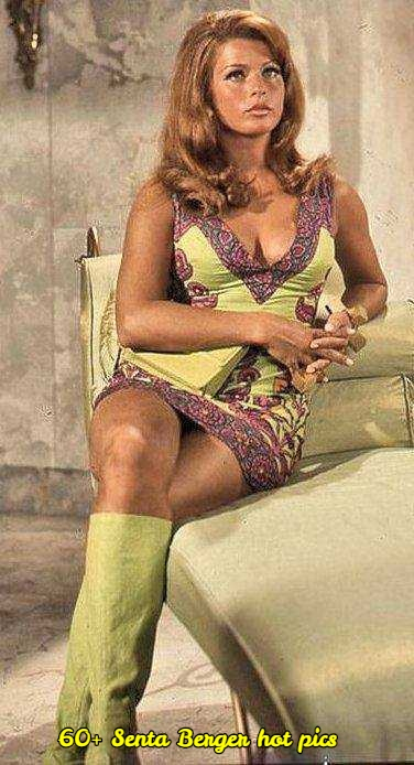 Senta Berger sexy legs pic