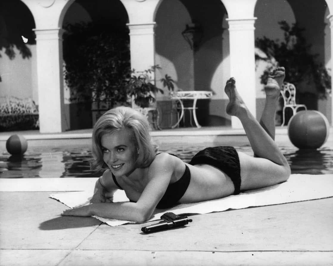 Shirley Eaton hot bikini