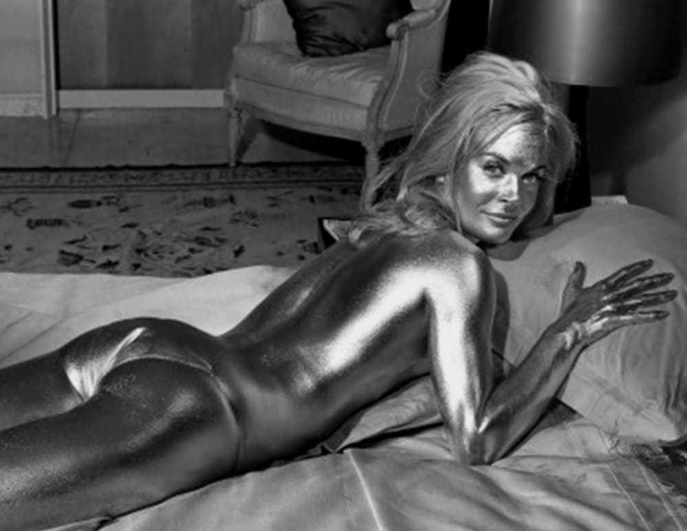Shirley Eaton topless
