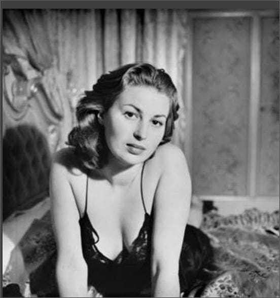 Silvana Mangano cleavage pic