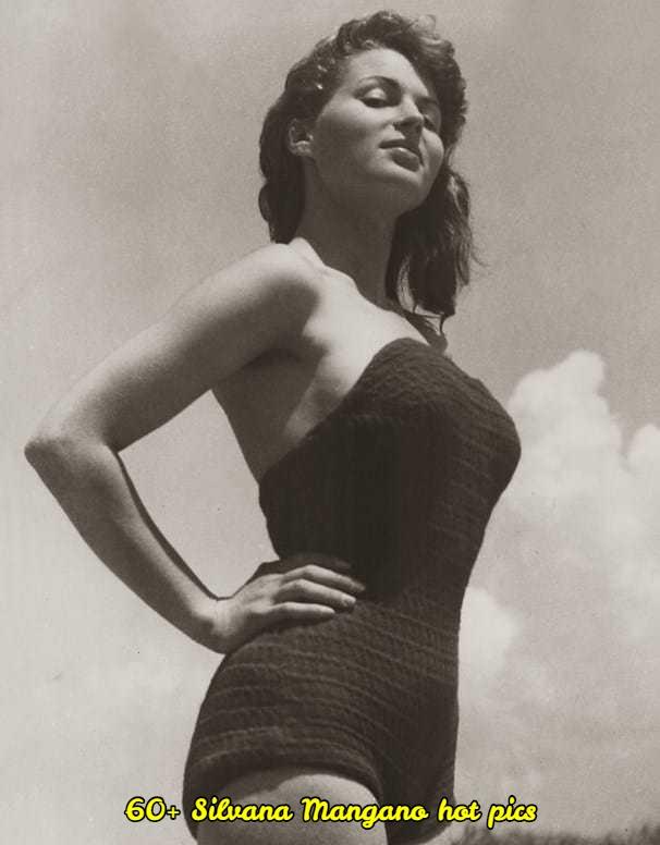 Silvana Mangano sexy look