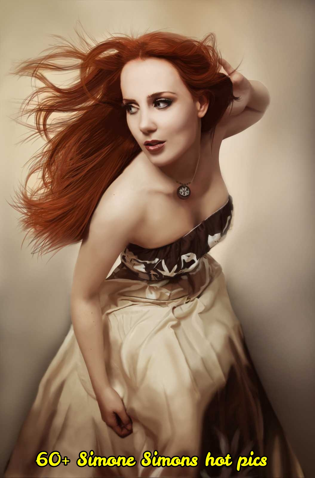 Simone Simons sexy