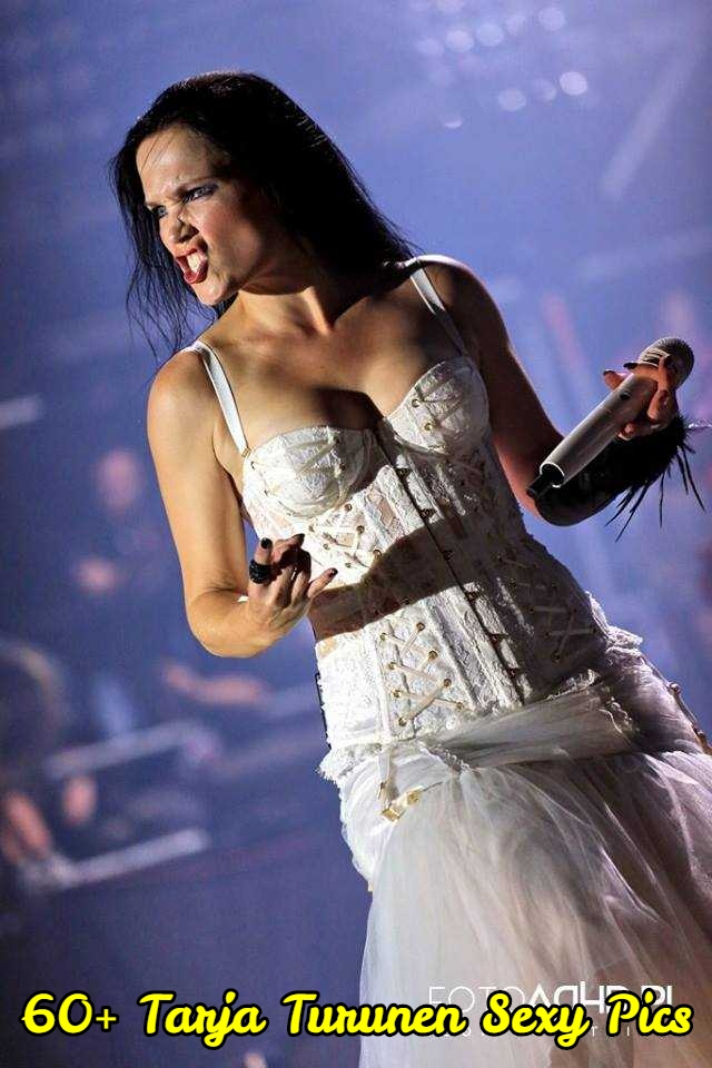 Tarja Turunen big boobs cleavage