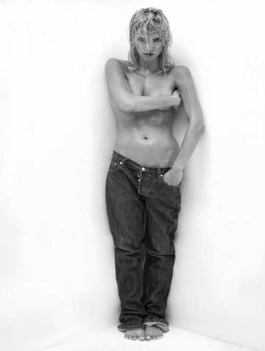 Tatána Kucharová topless
