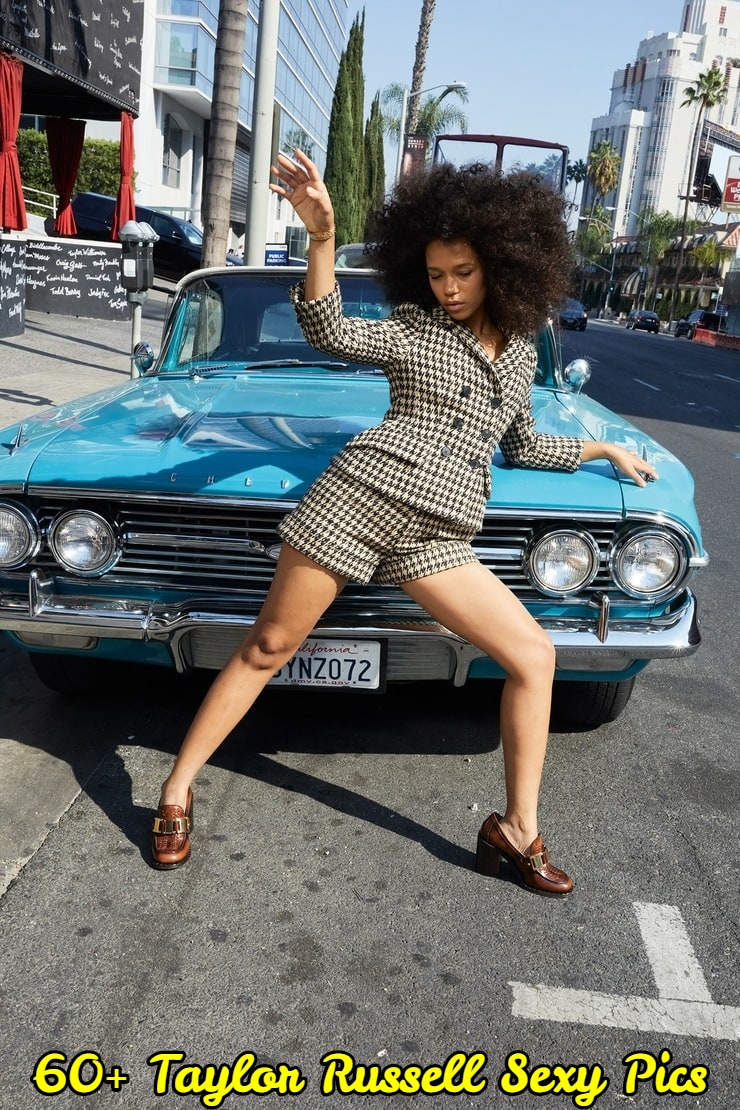 Taylor Russell legs